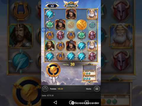 Super Mega Win slot Rise of Olympus