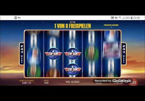 SUPER MEGA WIN ON TOP GUN Slot – 25.900 €