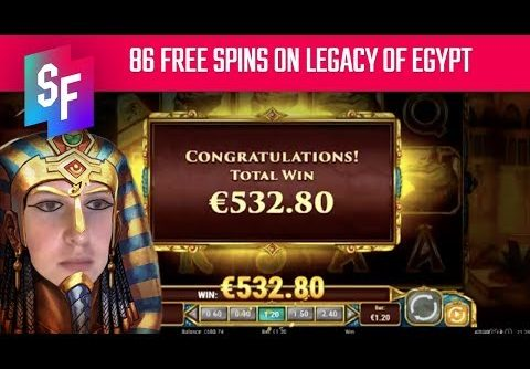 LEGACY OF EGYPT SLOT BIG WIN – NEVER ENDING FREE SPINS – Slots Stream Highlights