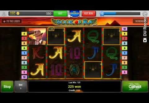 HUGE WIN ON BOOK OF RA SLOT !!! – NICE RECORD WIN