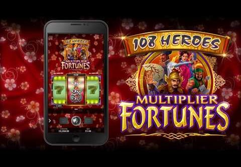 ⚔108 Heroes Multiplier Fortunes Slots | 100x BET MEGA WIN | FreeSpins.com⚔