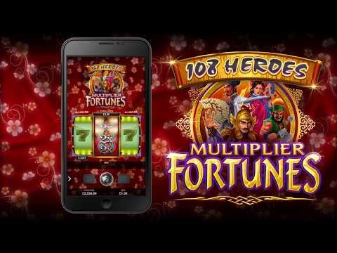 ⚔108 Heroes Multiplier Fortunes Slots | 100x BET MEGA WIN | FreeSpins.com⚔