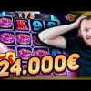 Mega Huge Win x2300 on Donuts Slot! HAVE TO WATCH IT! Online casino big win in slots