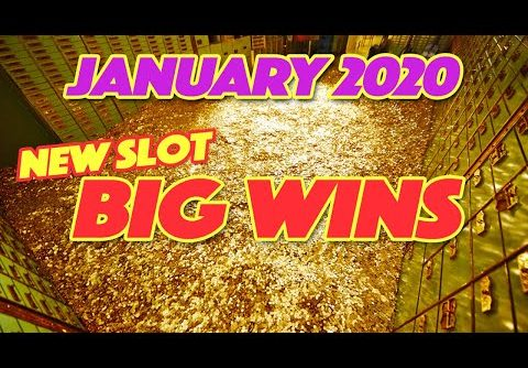 Biggest Slot Wins! ~ January 2020. A compilation of our Big Wins playing New Slots!