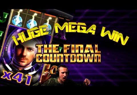 Huge Mega Win on Final Countdown Slot!!