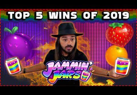 ROSHTEIN Top 5 Wins in Jammin Jars Slot 2019 | The Biggest Online Casino Wins