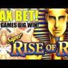 BIG WIN!!! Super Rise of Ra Slot Machine 💥 MAX BET Slot BONUS!