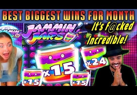 TOP 5 Biggest Wins on Jammin Jars slot! Online Casino! Wins of the August!