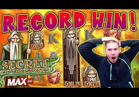 RECORD WIN on Secret of the Stones MAX Slot – £10 Bet *CRAZY MISCLICK!*