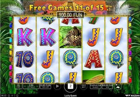 Lucky Queen Slot – SUPER BIG WIN – X2 BLACK or RED