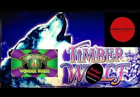 WONDER 4 WONDER WHEEL ~ TIMBER WOLF JACKPOT!!  HUGE WIN!! ~ Live Slot Play @ San Manuel