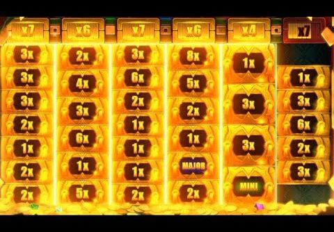 Mega Big Win Aztec Gold  Megaways Slot