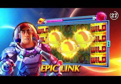 Online new slot with EPIC LINK feature! Come & win super mega wins with the FREEBIES! 🪐