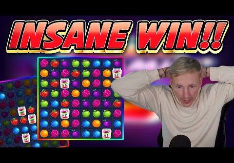 INSANE WIN!! JAMMIN JARS BIG WIN – Casino game from Casinodaddys live stream