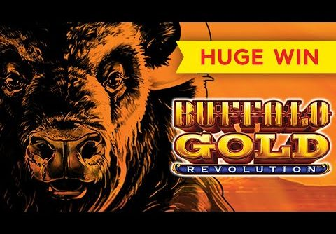 LOVE IT! Buffalo Gold Revolution Slot – BIG WIN!