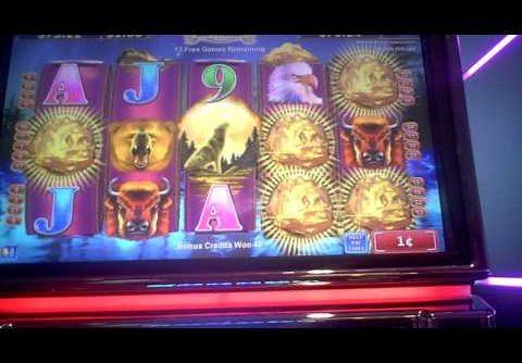 Northern Treasure Slot Machine BIG WIN Bonus