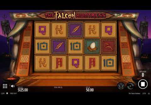 The Falcon Huntress Slot – SUPER BIG WIN – Bonus Free Spins