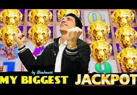 My BIGGEST BUFFALO GOLD slot JACKPOT HANDPAY WIN!