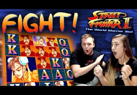 SUPER BIG WIN on Street Fighter 2 Slot Bonus!