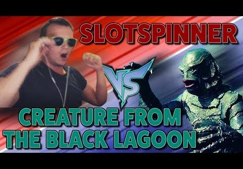 Creature from the Black Lagoon (+10 Spins) – MEGA BIG WIN (Mission Complete)