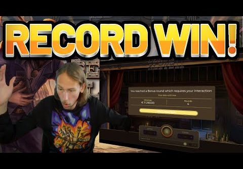 RECORD WIN!! Dead Or Alive 2 BIG WIN – HUGE WIN on Casino game from Casinodaddys live stream