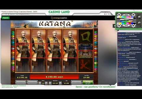 Casino Land – Huge Mega Win at Katana slot!