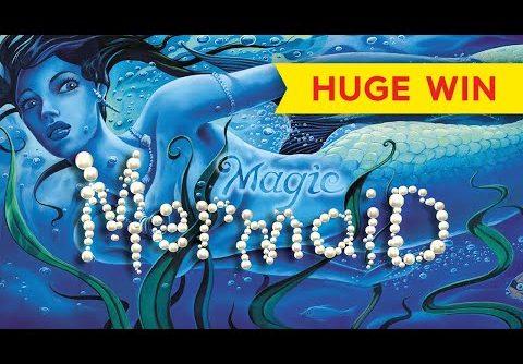 $10 MAX BET RETRIGGER, WOW! Magic Mermaid Slot – HUGE WIN!