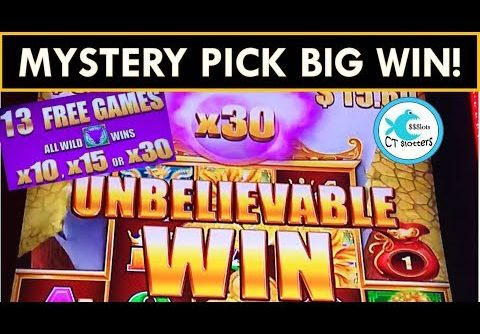 MYSTERY PICK BIG WIN ON 5 DRAGONS GRAND SLOT MACHINE! w/5 Symbol trigger on 5 Dragons Deluxe!