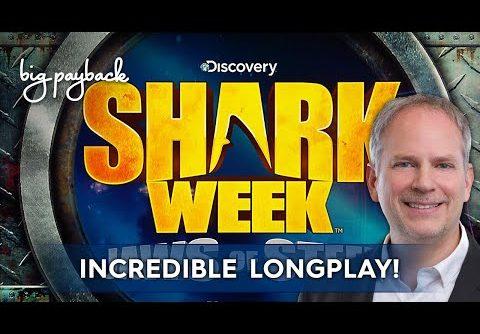 Shark Week Slot – MEGA WIN LONGPLAY!