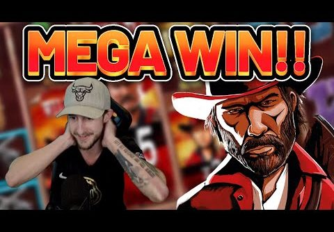 MEGA WIN!!!! DESPERADOS MEGAWAYS BIG WIN –  Casino Slot from Casinodaddy LIVE STREAM