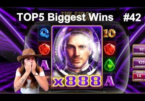 TheBestMoments   TOP5 Biggest Wins #42 Super Mega Win