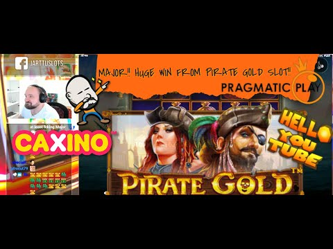 MAJOR💰!! HUGE WIN FROM PIRATE GOLD SLOT!!