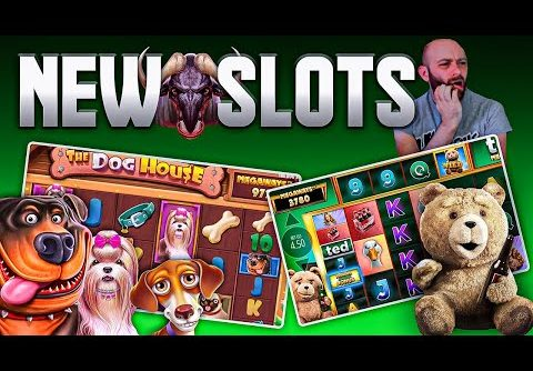 New Online Slots! Dog House Megaways, Ted Megaways, & HUGE win on Win-a-Beest!