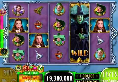 """WIZARD OF OZ: SURRENDER DOROTHY Video Slot Game with a """"MEGA WIN"""" FREE SPIN BONUS"""