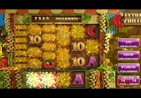 👑 Extra Chilli Big Win 28 Free Spins 💰 A Slot By Big Time Gaming.