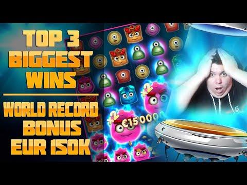TOP 3 BIGGEST WINS – SLOT REACTOONZ! WORLD RECORD BONUS EUR 150K!