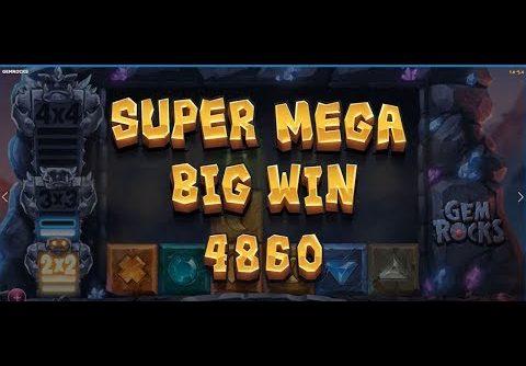 Gem Rocks slot Mega Big Win Jackpots William Hill game bonus Vegas