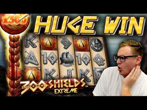 HUGE WIN on 300 Shields Extreme!
