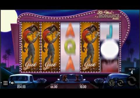 EPIC MEGA WIN On Full Moon Romance Slot Machine From Yggdrasil Gaming