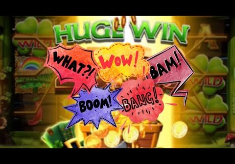 Wish upon a Leprechaun slot machine £ HUGE WIN £ on INFECTIOUS WILDS