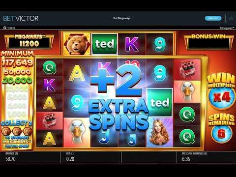 Online slots – Ted Megaways big bonus!
