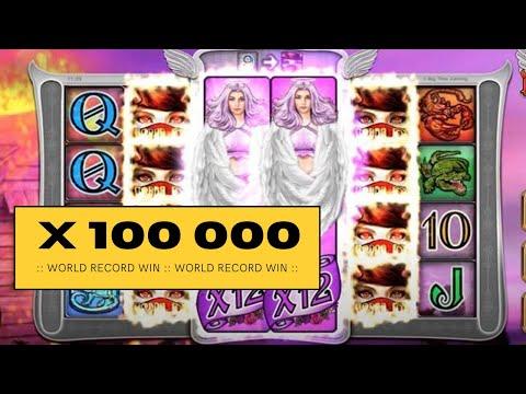 WORLD RECORD ONLINE SLOT WIN X 100.000 – A record big win on LIL DEVIL slot – Slots biggest WIN ever