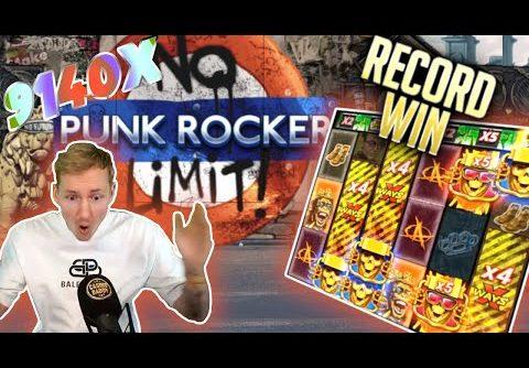 Record Slot Win Punk Rocker I 9140x