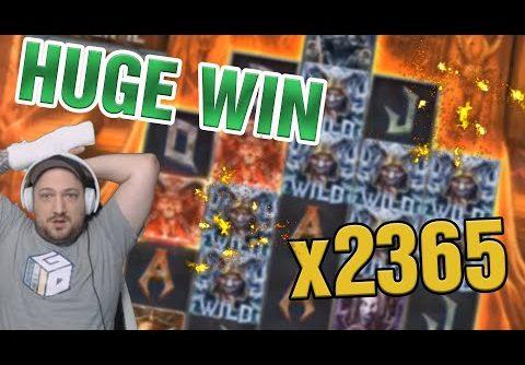 MEGA WIN! Streamer win x2365 in Casino Slots! BIGGEST WINS OF THE WEEK! #2