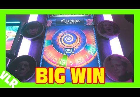 WILLY WONKA – MAX BET BIG WIN – Slot Machine Bonus