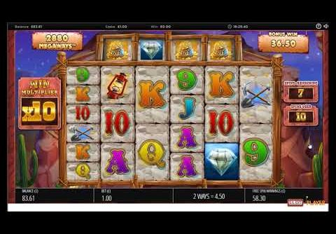 Diamond Mine slot mega big win | Blueprint | CasinoCasino