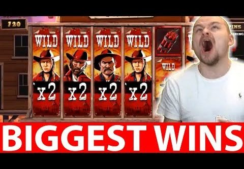 BIGGEST CASINO WINS #10 INSANE WIN DASKELELELE DESPERADOS WILD SLOT