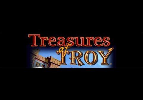 TREASURES OF TROY Slot – Big Win! – Slot Bonus Features and Line HIts Slot Machine Bonus