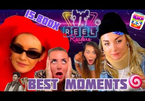 REEL RAIDERS INTRO  | BIGGEST WIN ON SLOTS  | FUNNY MOMENTS