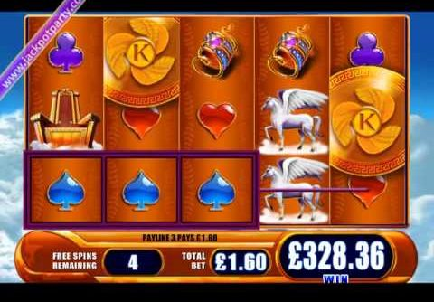 £330.40 SUPER BIG WIN (206 X STAKE) KRONOS ™ BIG WIN SLOTS AT JACKPOT PARTY